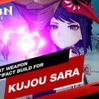 Der beste Waffen- und Artefakt-Build für Kujou Sara in Genshin Impact
