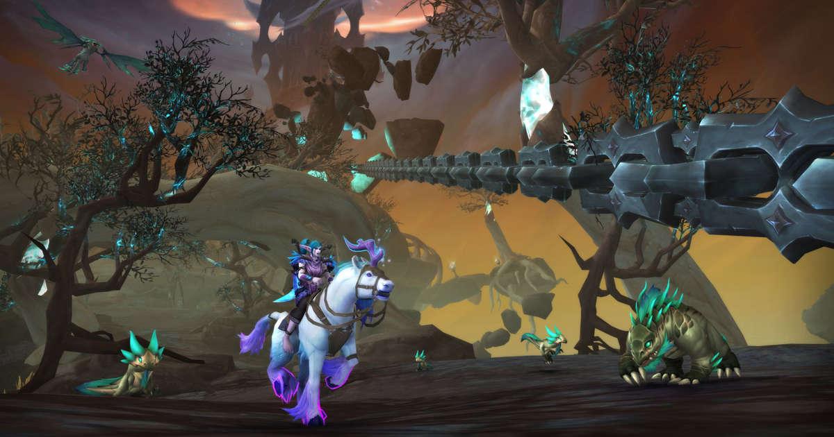 Das World of Warcraft-Update bringt viele von Fans gewünschte Änderungen an Shadowlands