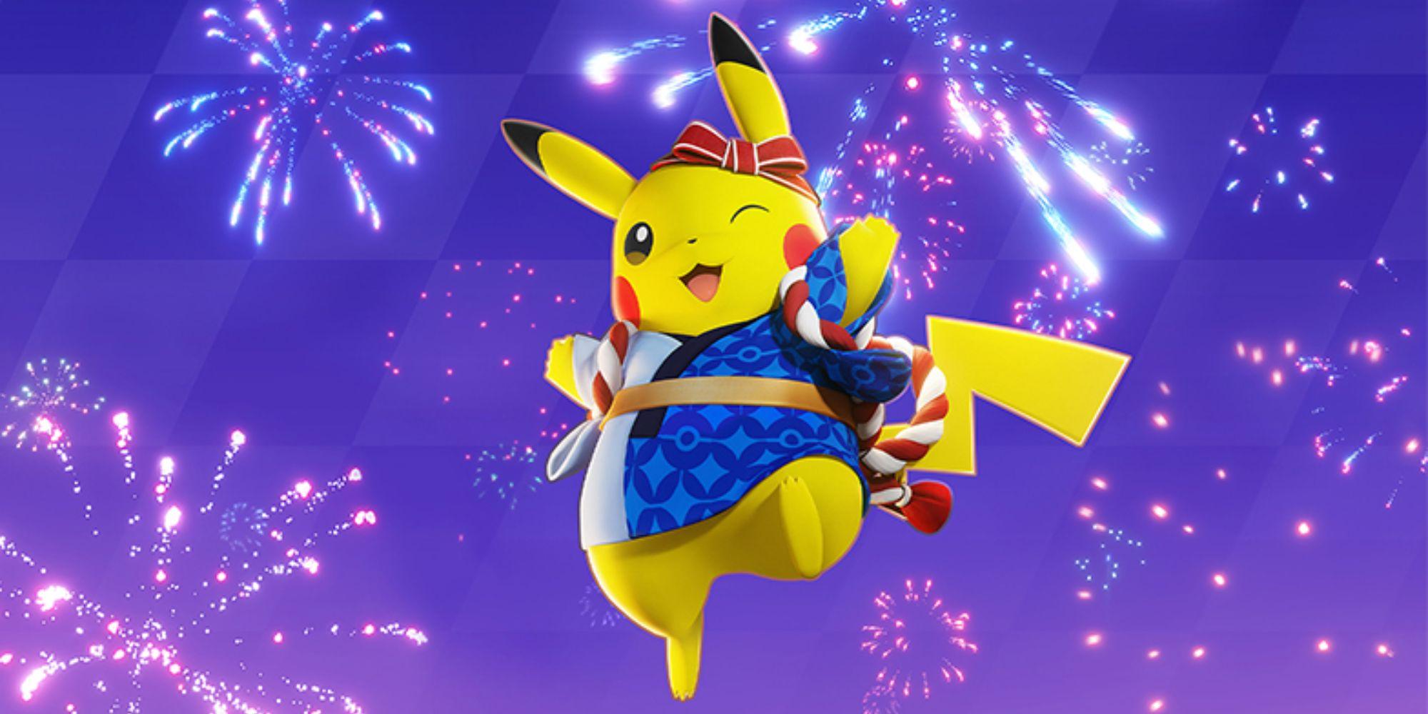 Pokemon Unite belohnt Spieler mit kostenlosen Festival Pikachu Holowear und Aeos Tickets