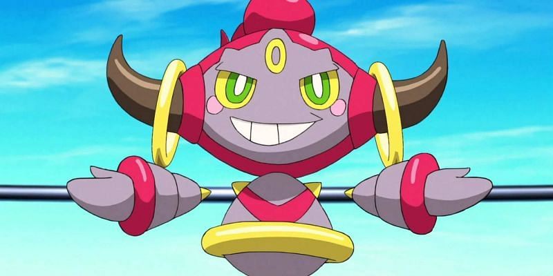Hoopa is known as the Pokemon of Mischief (Image via The Pokemon Company)