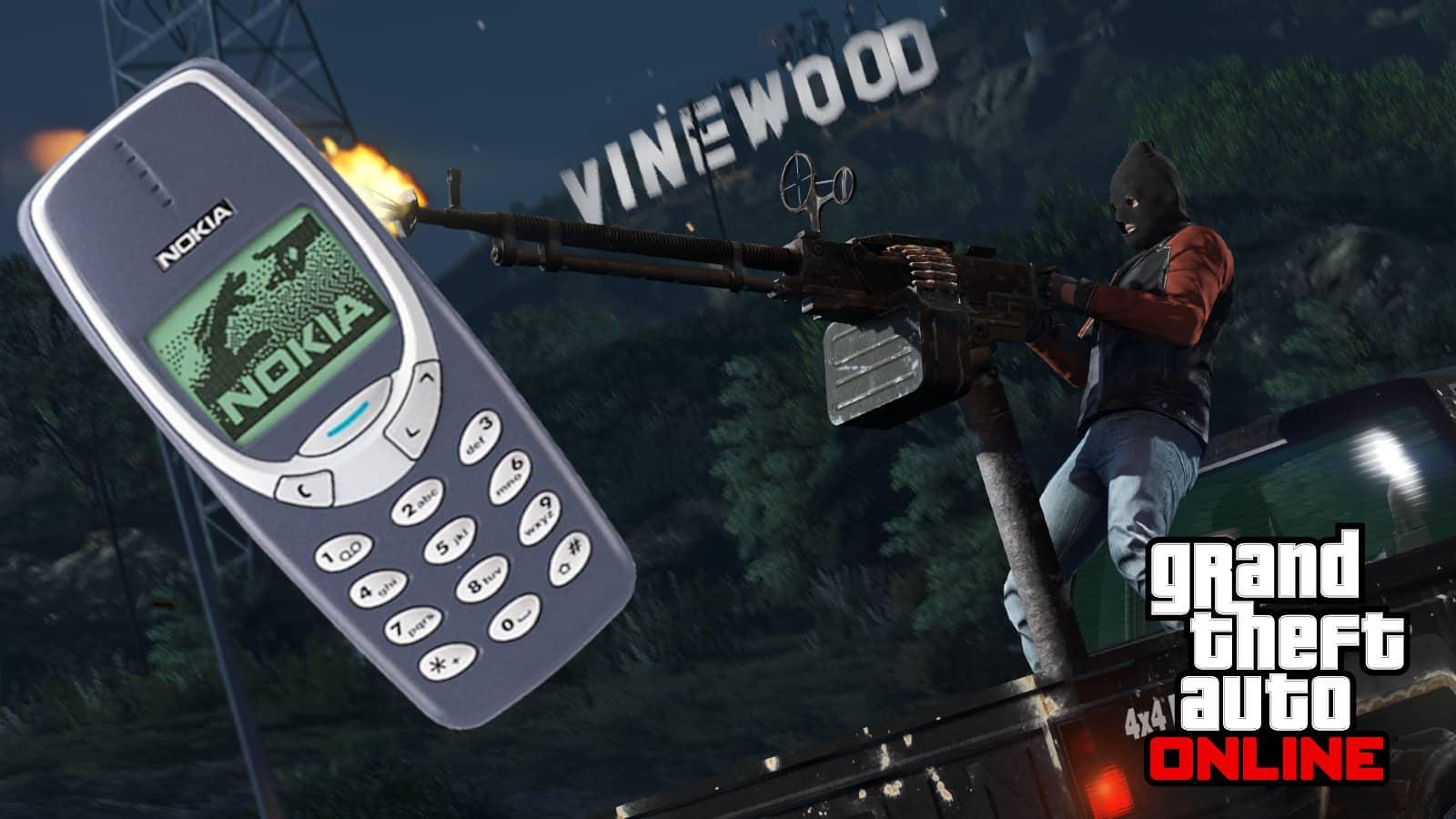 Nokia phone blocks bullets in gta online