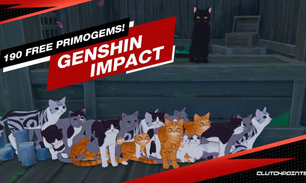 Genshin Impact Neko Is a Cat 190 Free Primogems