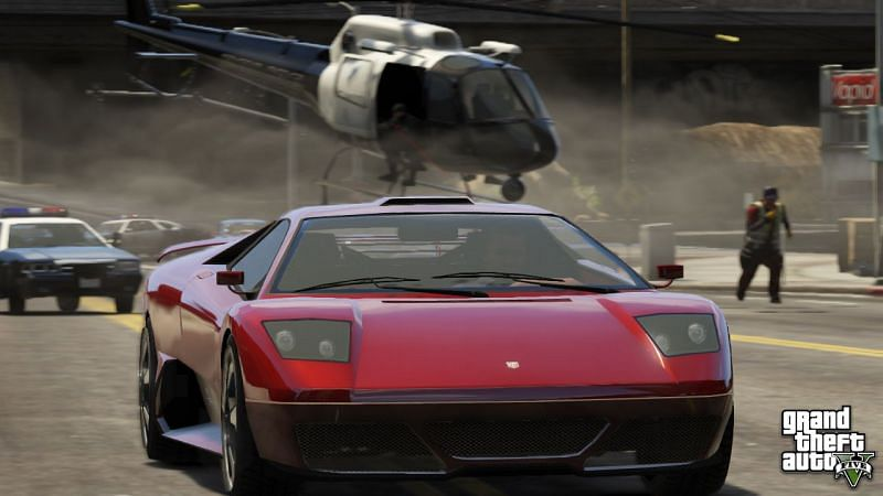 GTA 5 is enjoyed best with cheat codes (Image via Rockstar Games)