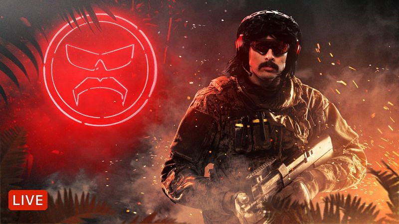 Dr Disrespect cannot wait to drop into the new Warzone map (Image via Twitter/DrDisrespect)