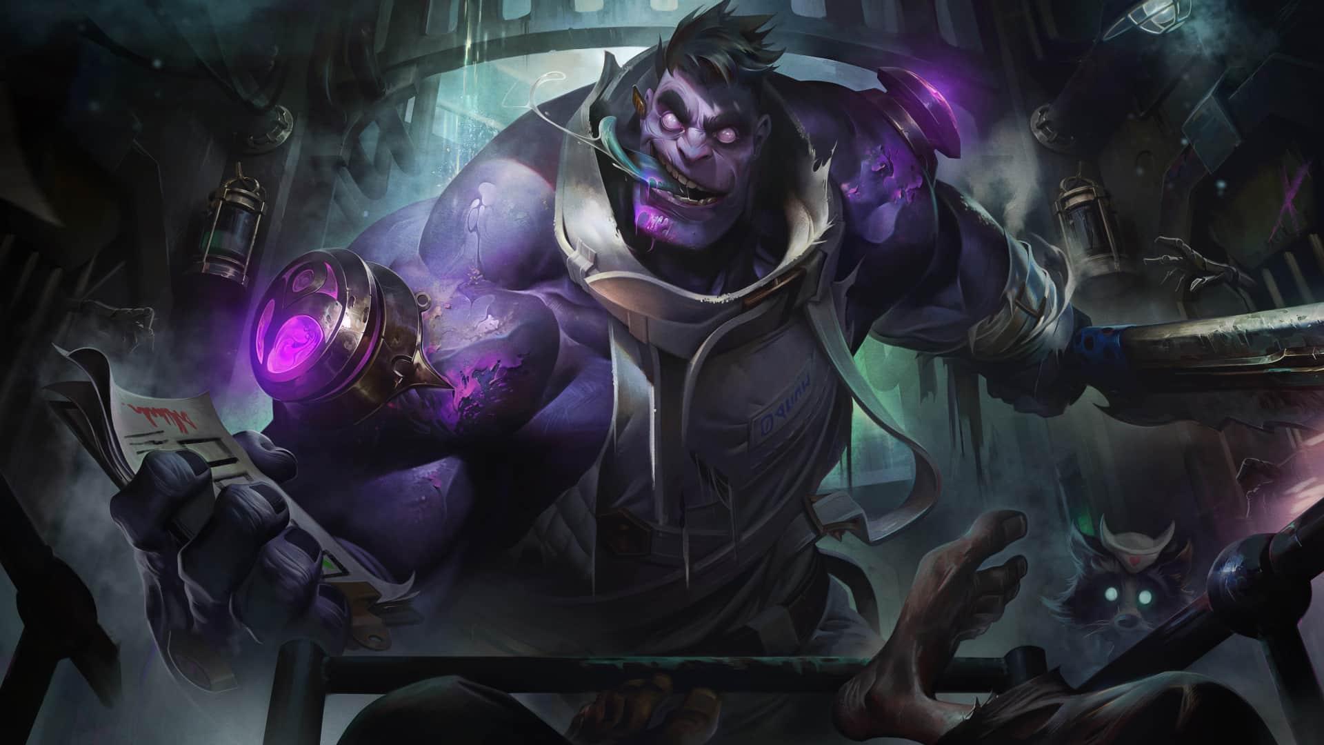 Dr. Mundo League of Legends-Überarbeitung