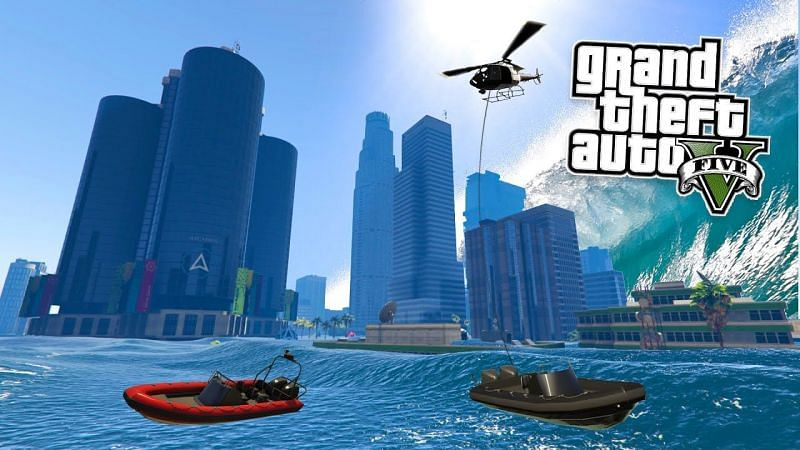 Funniest mods in GTA 5 (Image via YouTube)