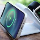 Laden Sie Ihr iPhone, Ihre Apple Watch und Ihre AirPods mit dieser kabellosen MagSafe-Ladestation auf