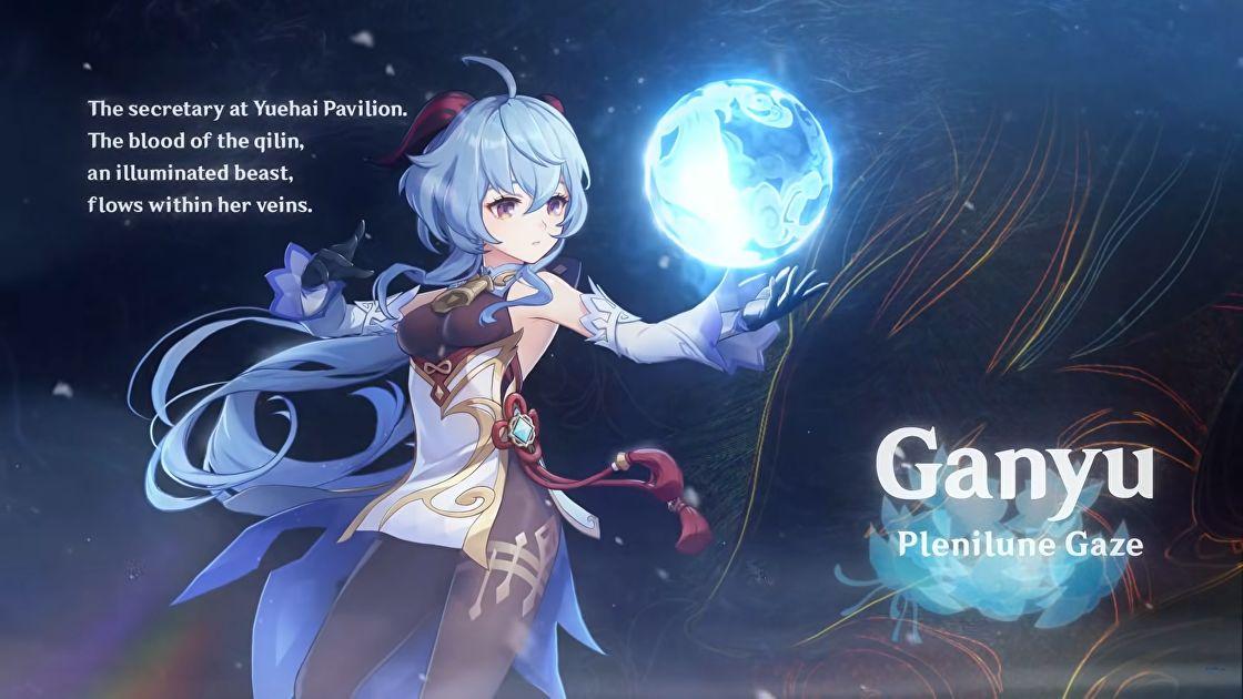 Bester Genshin Impact Ganyu-Build