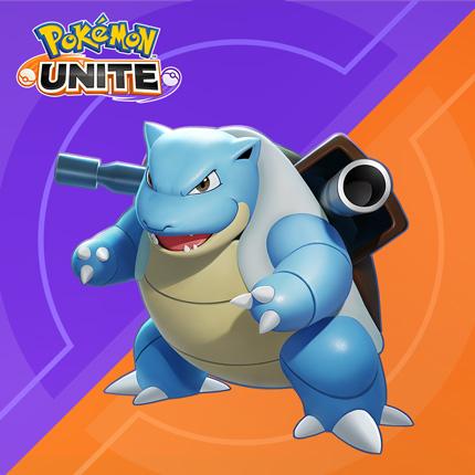 Blastoise ist jetzt in Pokémon UNITE . verfügbar