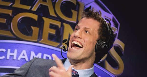 Clayton Raines wird die League of Legends-Weltmeisterschaft 2021 nicht kommentieren