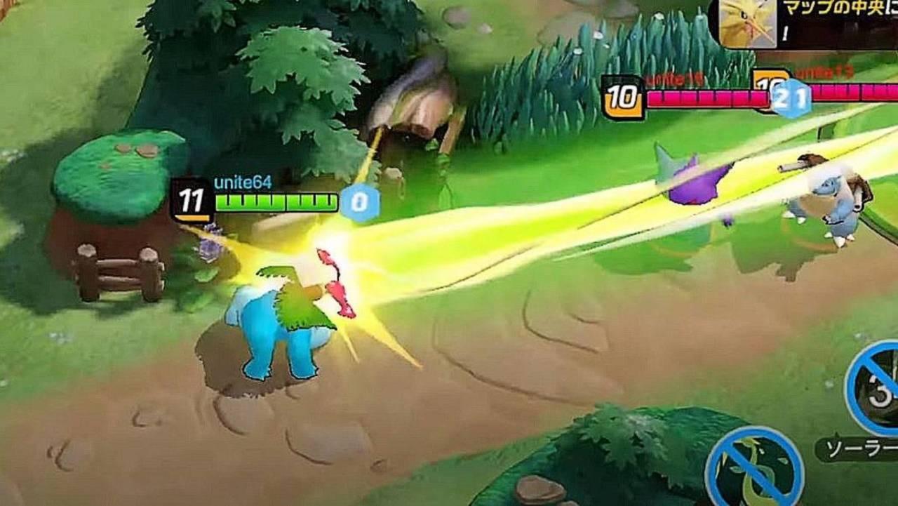 Das urkomische Pokemon Unite-Video zeigt die Macht von Venusaur