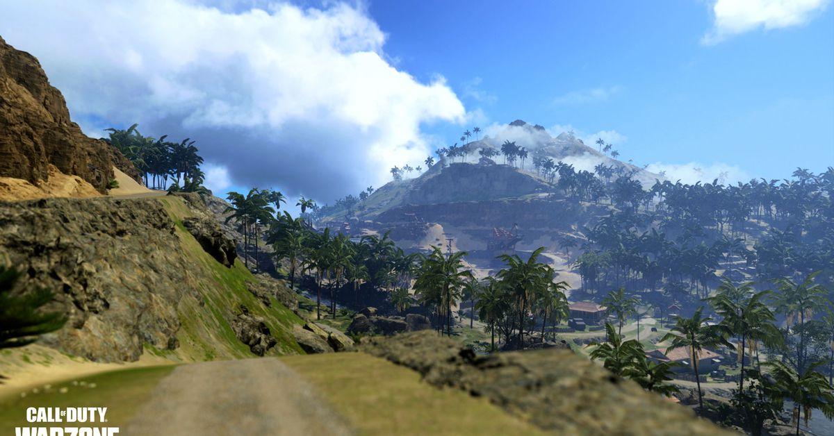 Die neue Warzone-Karte von Call of Duty führt die Spieler in den Pazifik