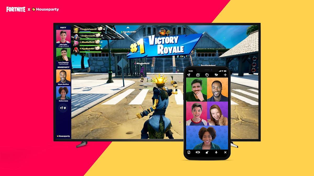 """Epic Games schließt Houseparty im Oktober, einschließlich der Video-Chat-Funktion """"Fortnite-Modus"""""""