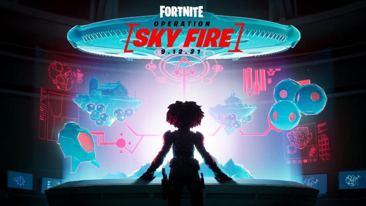 Fortnite Chapter 2 Season 7 enthüllt Operation: Sky Fire Finale Event