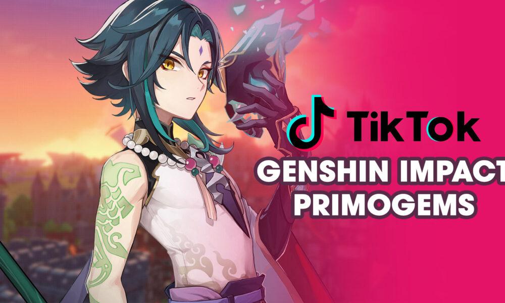 Get free Genshin Impact Primogems with a simple TikTok trick