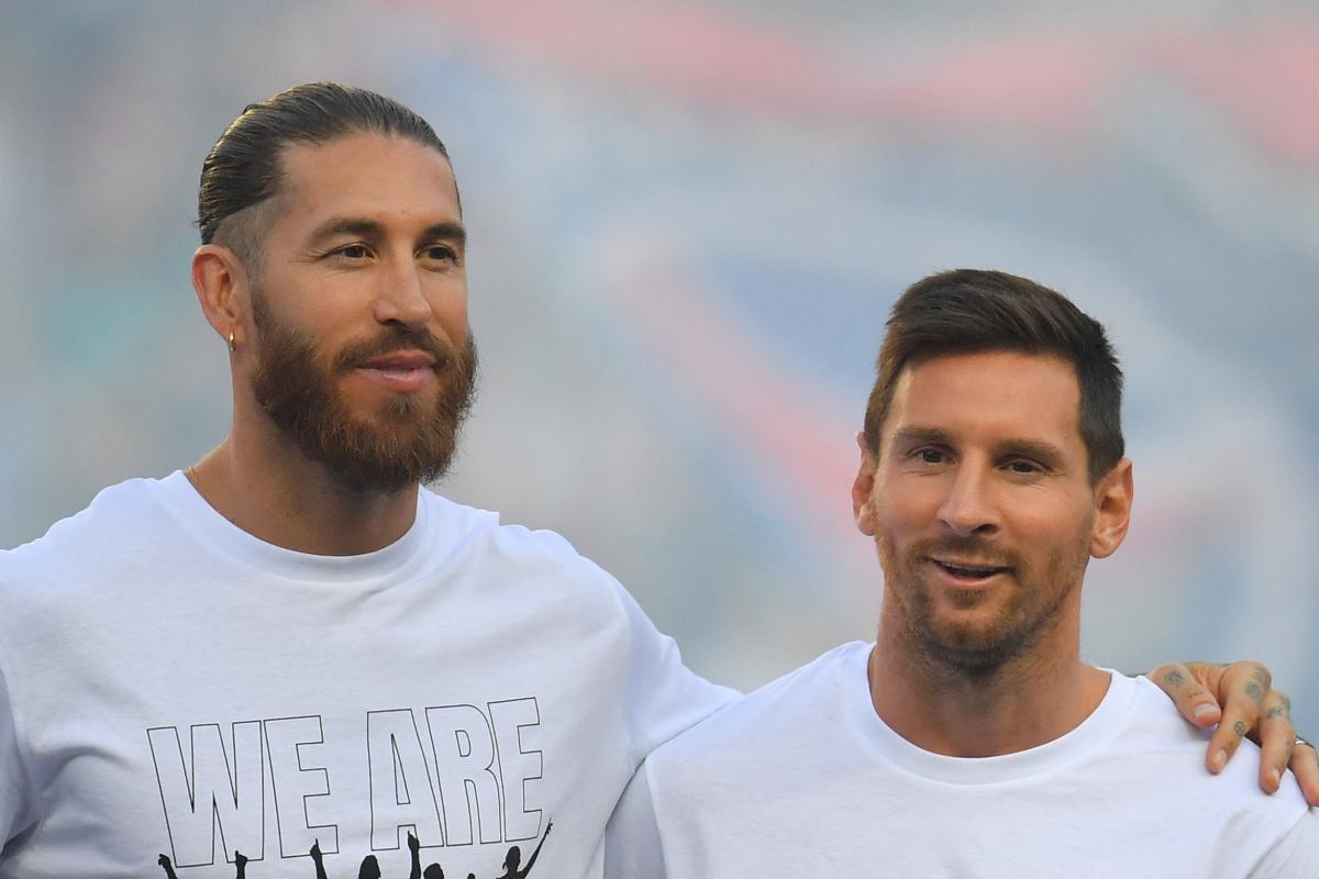 """LaLiga-Chef sagt, PSG sei aufgrund des Alters ihrer Spieler nur """"Liga der Legenden"""", nachdem er Messi (34) und Ramos (35) unter Vertrag genommen hatte"""