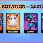 Pokemon UNITE Free Rotation: Woche vom 5. bis 11. September