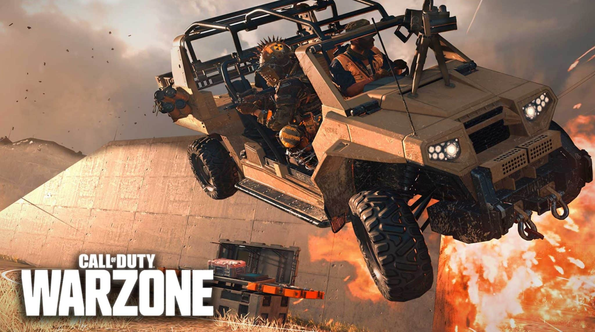 Warzone flying cars