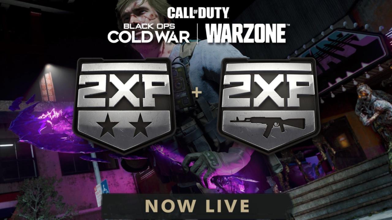 Holen Sie sich jetzt doppelte EP in Call of Duty: Warzone und Black Ops Cold War