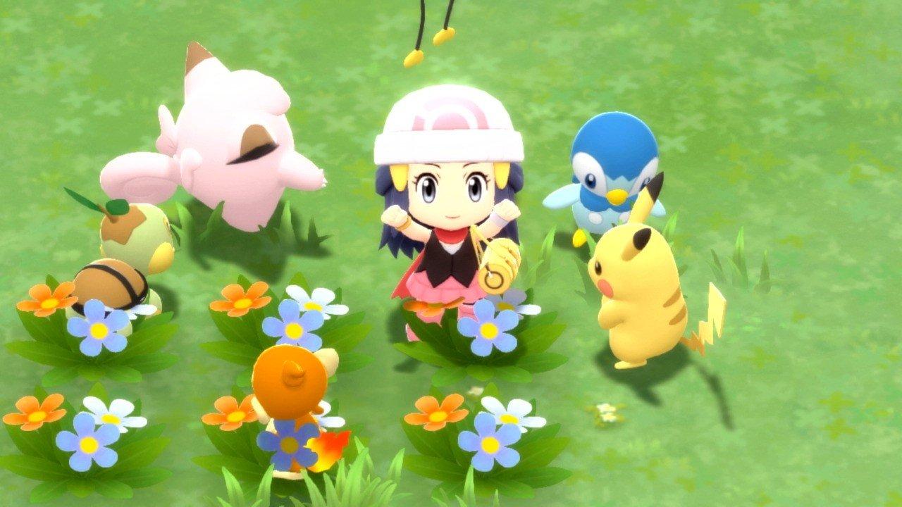 Erster Eindruck: Im Guten wie im Schlechten sehen Pokémon Brilliant Diamond & Shining Pearl aus wie extrem sichere Remakes