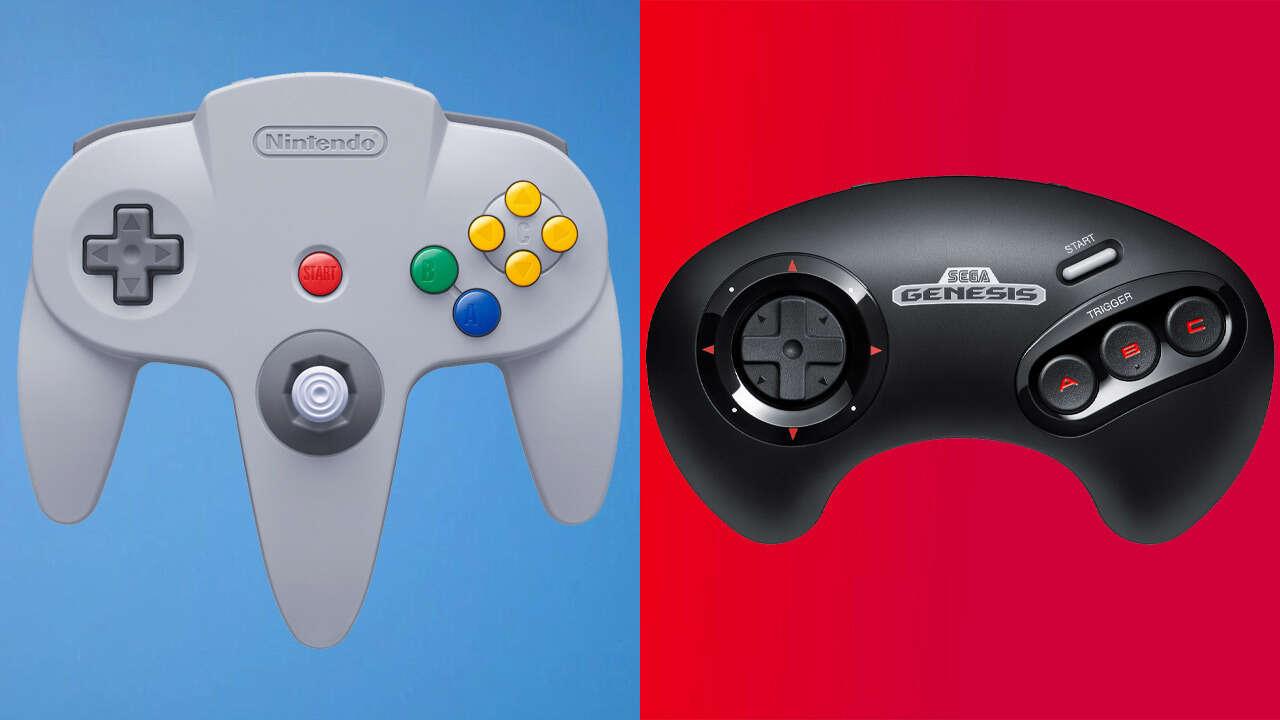 N64 und Sega Genesis Switch Controller Vorbestellungen sind live