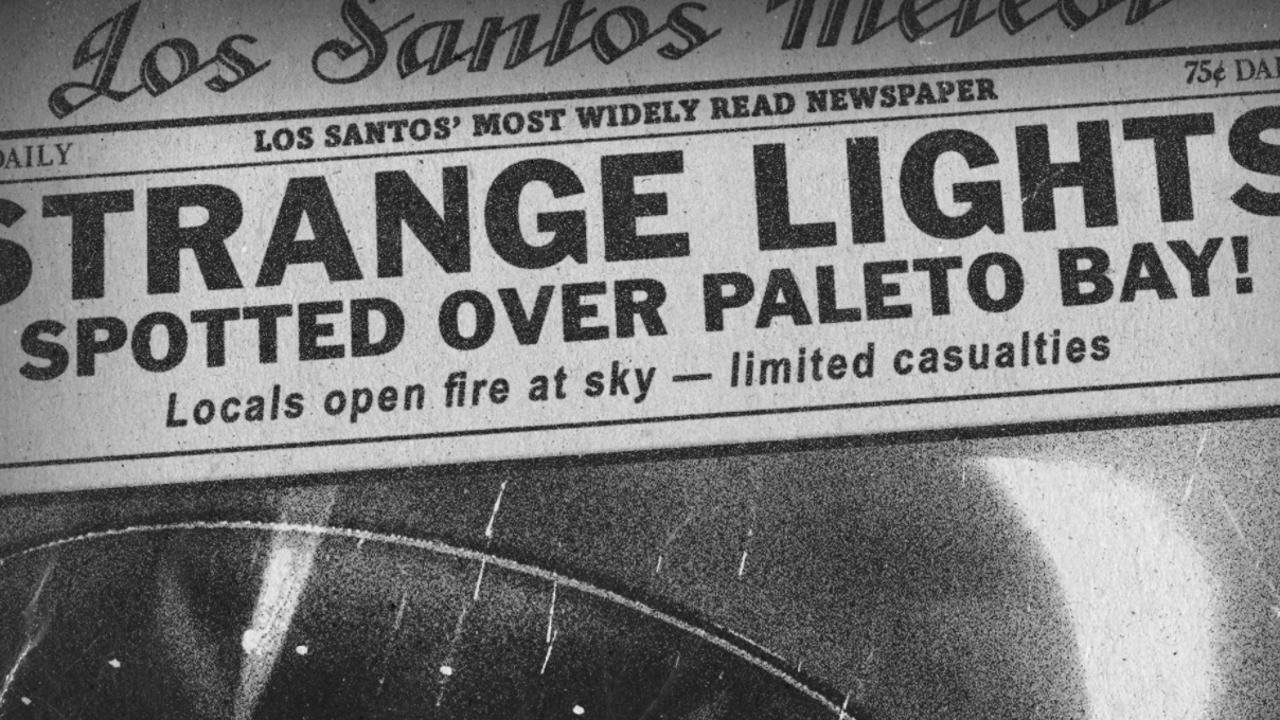 GTA Onlines Halloween/UFO-Event gehänselt, deutet auf Paleto Bay