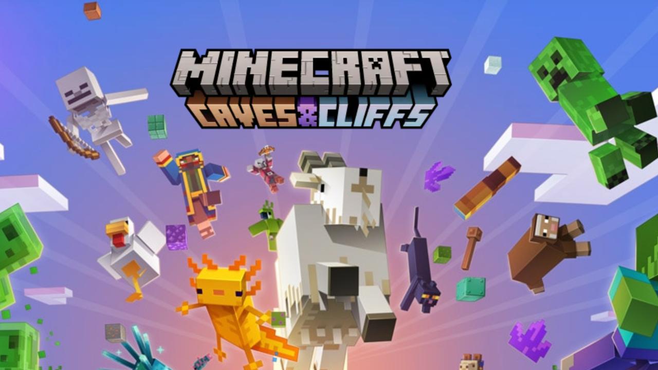 Minecraft Cliffs & Caves Teil 2 kommt dieses Jahr