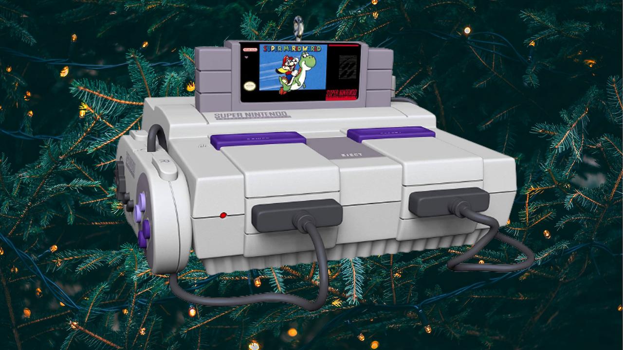 Das Hallmark SNES-Weihnachtsornament ist wieder auf Lager