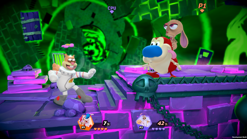 Nickelodeon All-Star Brawl Review – Fast bereit für Slime Time