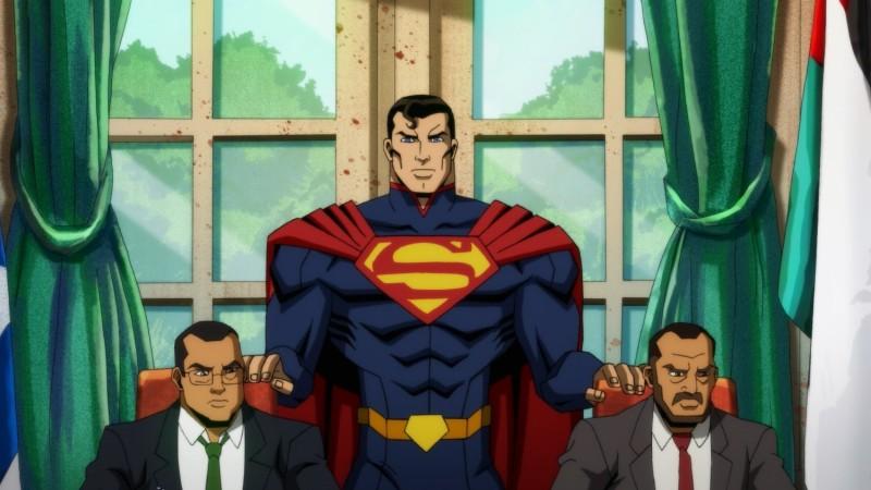Sehen Sie sich diesen exklusiven Clip von Superman Wrecking Things In Injustice an