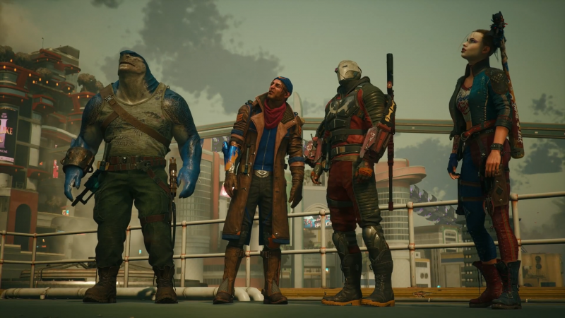 Suicide Squad: Kill The Justice Leagues Story-Trailer debütiert bei DC Fandome