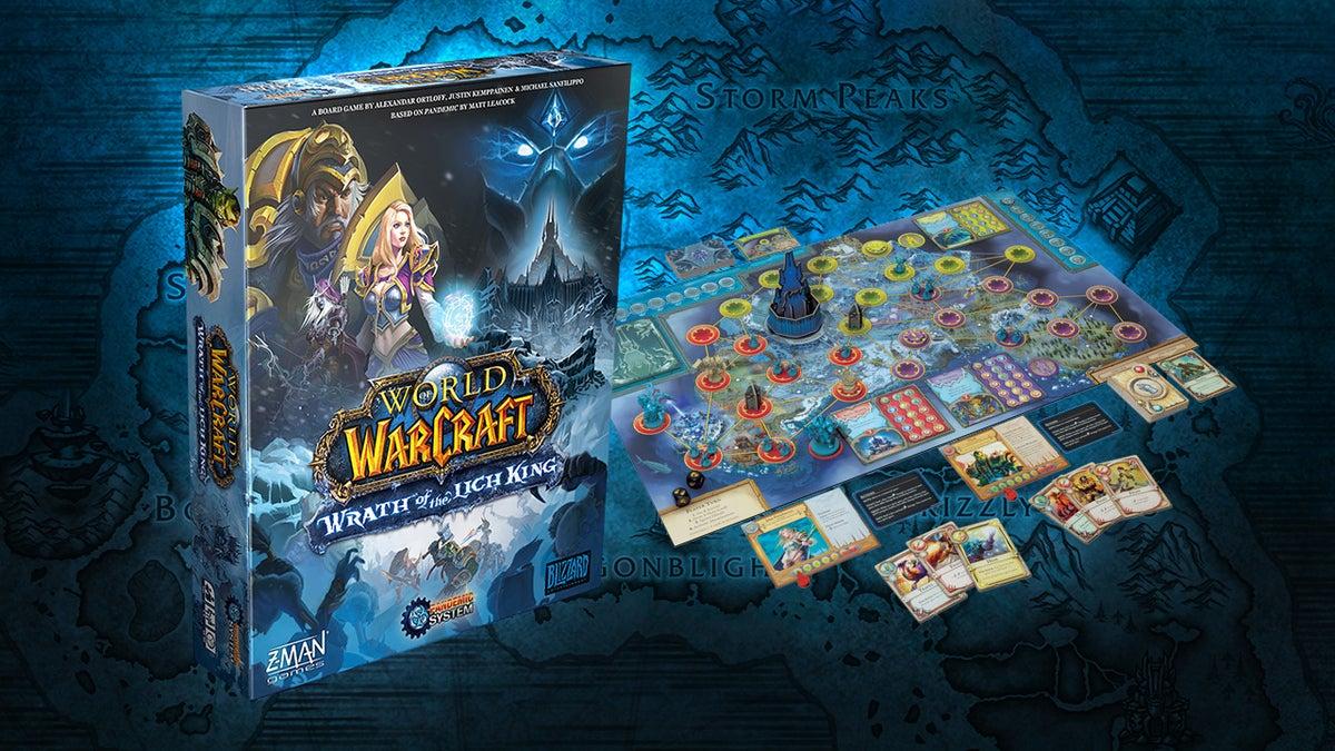 World of Warcraft: Wrath of the Lich King – Eine Brettspiel-Rezension zum Pandemic-System